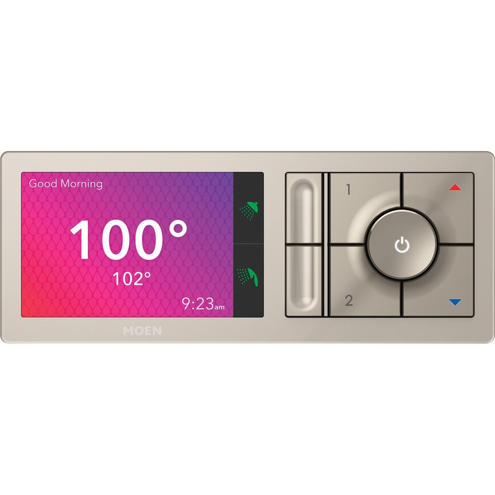 U by MOEN 2-Outlet Digital Shower Controller in Terra Beige (Valve Not Included)