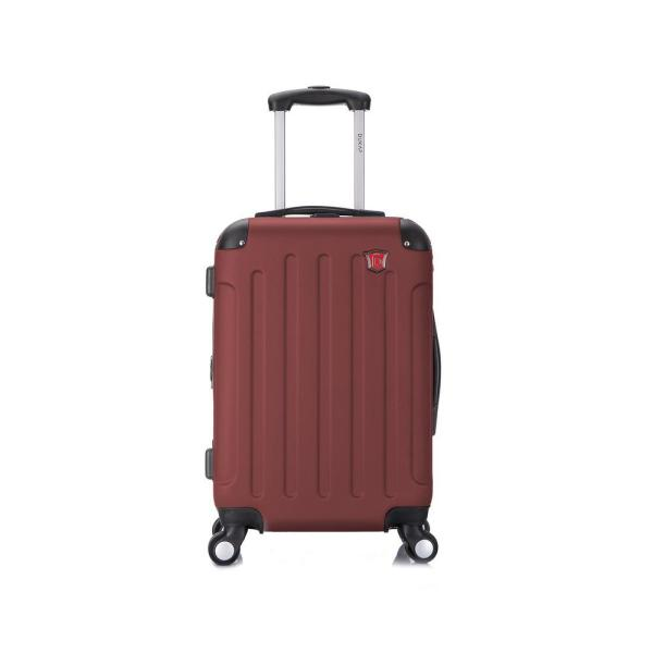 DUKAP Intely 20 in. Hardside Spinner carry-on with integrated USB port