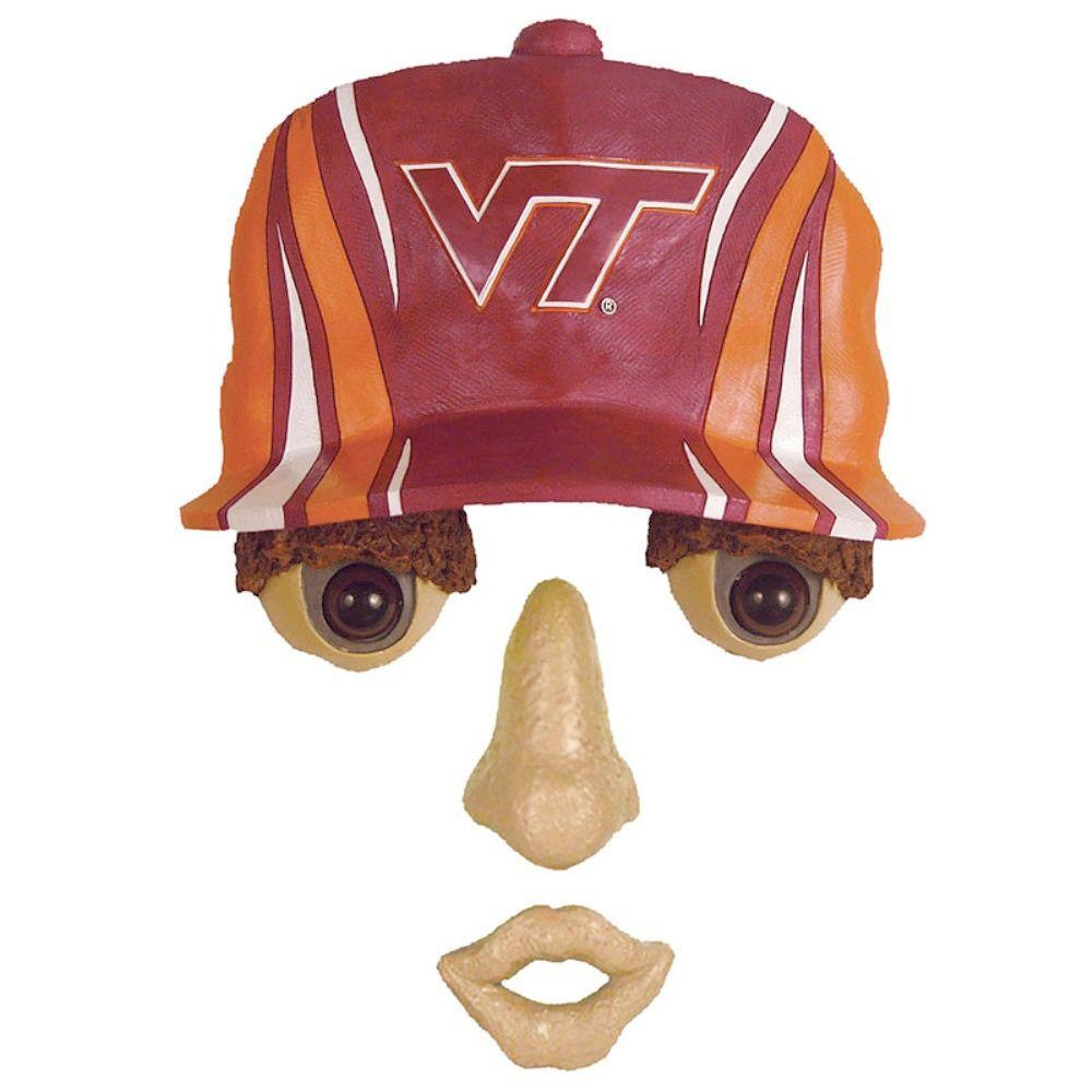 Team Sports America 14 in. x 7 in. Forest Face Virginia Tech University