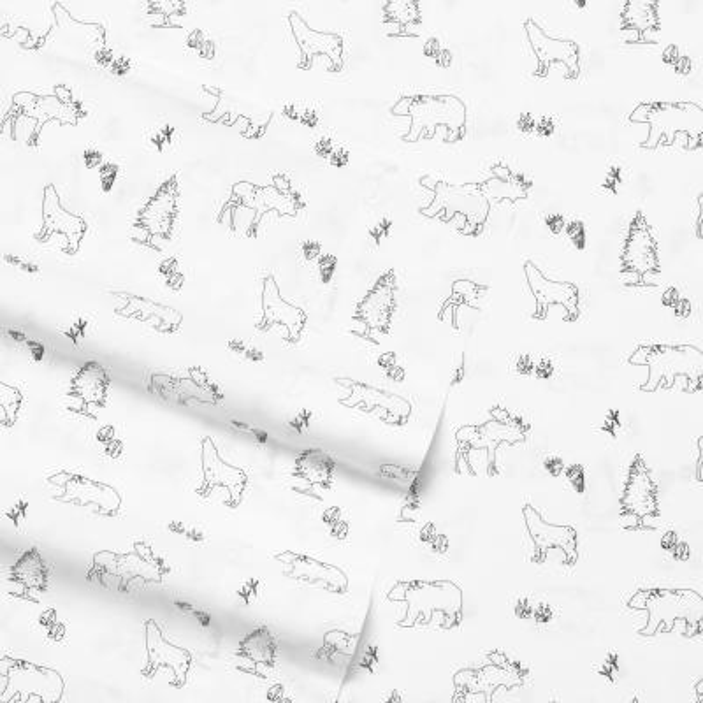 Eddie Bauer Graphic 200-Thread Count Cotton Sheet Set