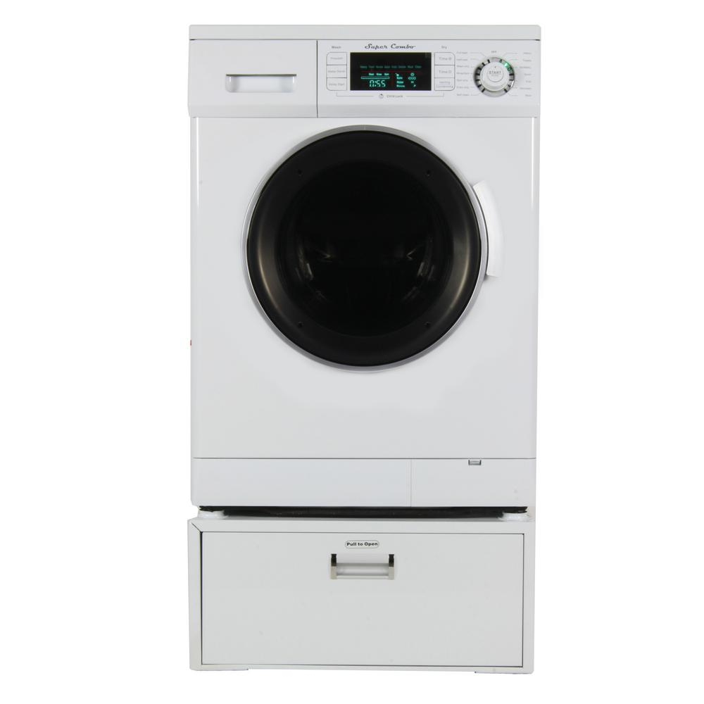 Deco All In One 1 6 Cu Ft Compact Combo Washer Dryer