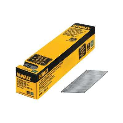 2 in. x 15-Gauge Galvanized Angled Nails (2500-Pieces)