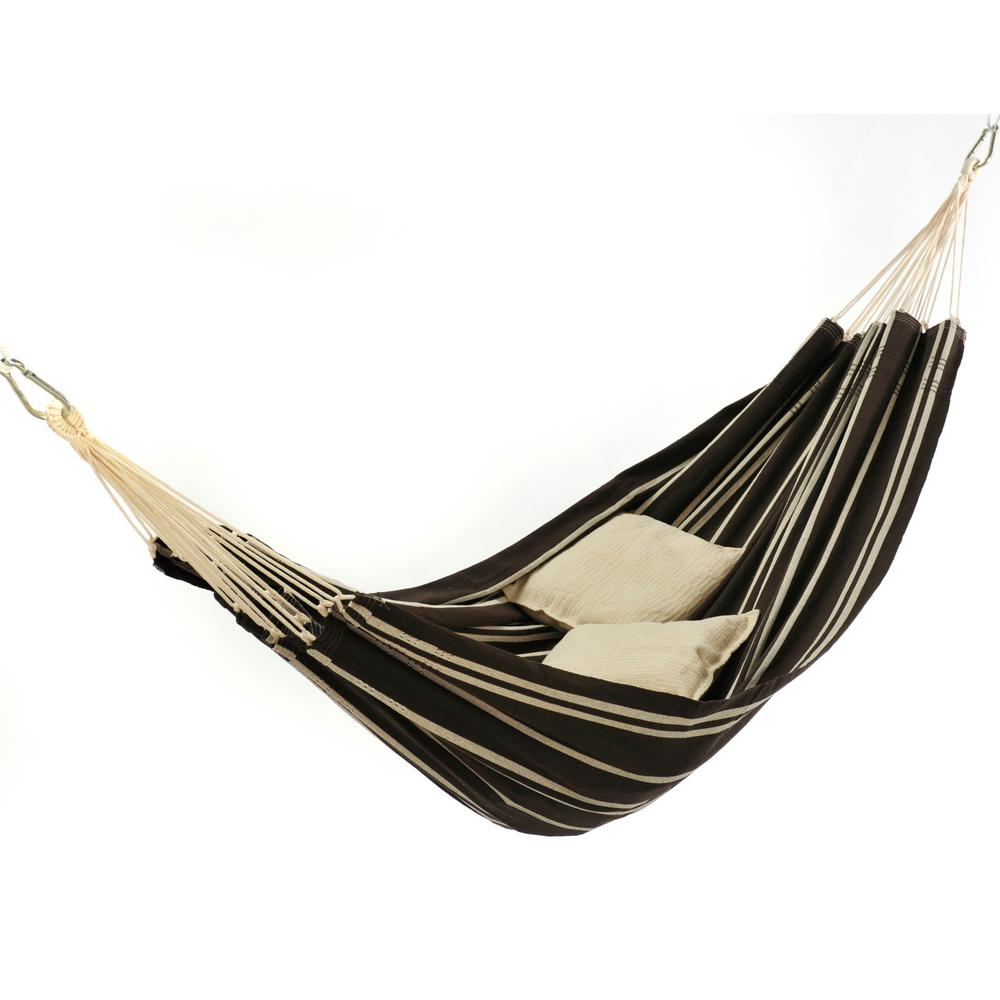 cotton poly brazilian hammock byer of maine 11 ft  2 in  cotton poly brazilian hammock a101860      rh   homedepot