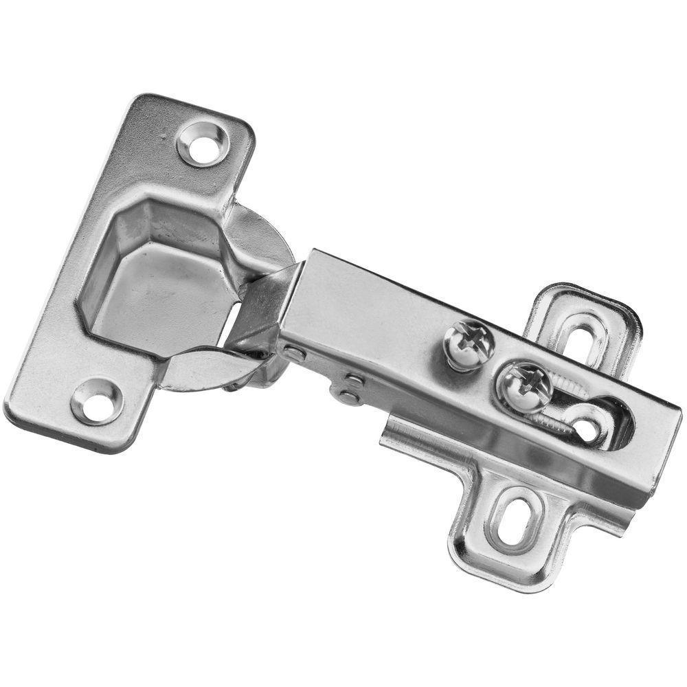 Plain Steel Concealed Cabinet Hinge