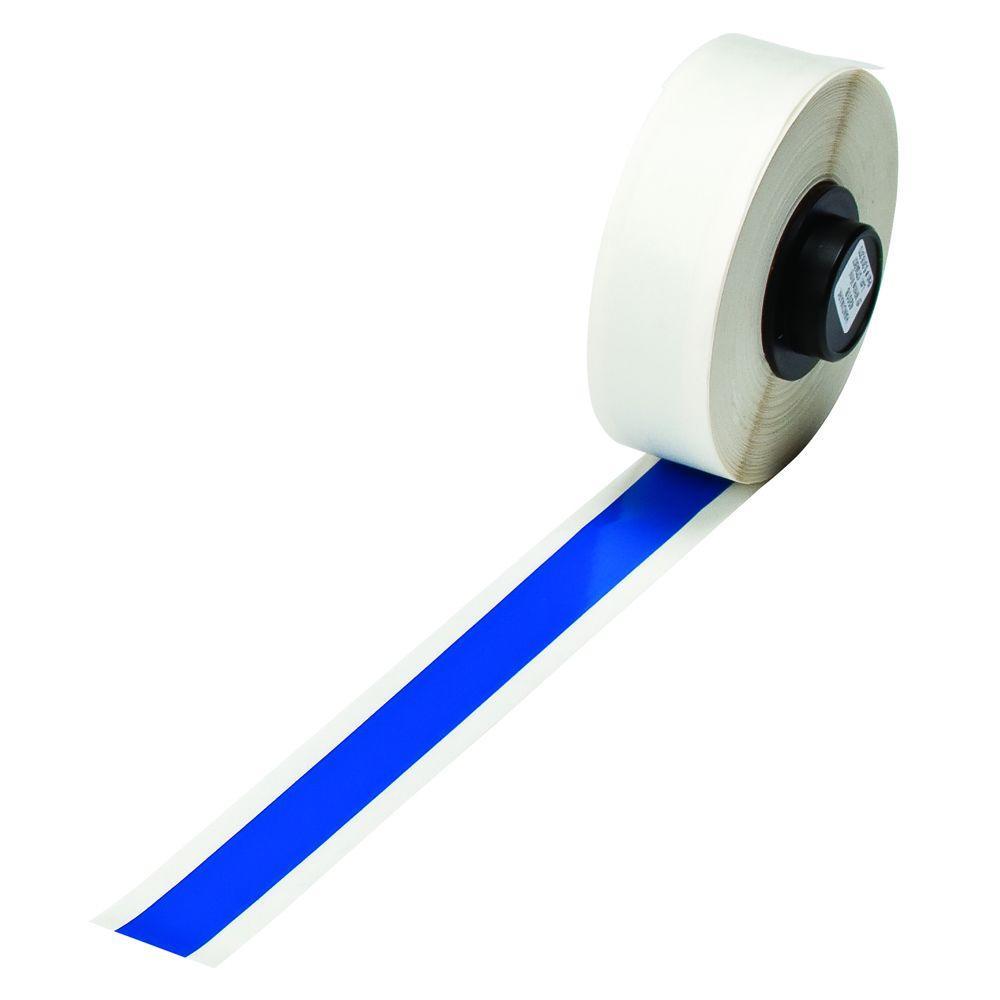 Handimark 50 ft. x 1/2 in. Indoor/Outdoor Vinyl Blue Tape