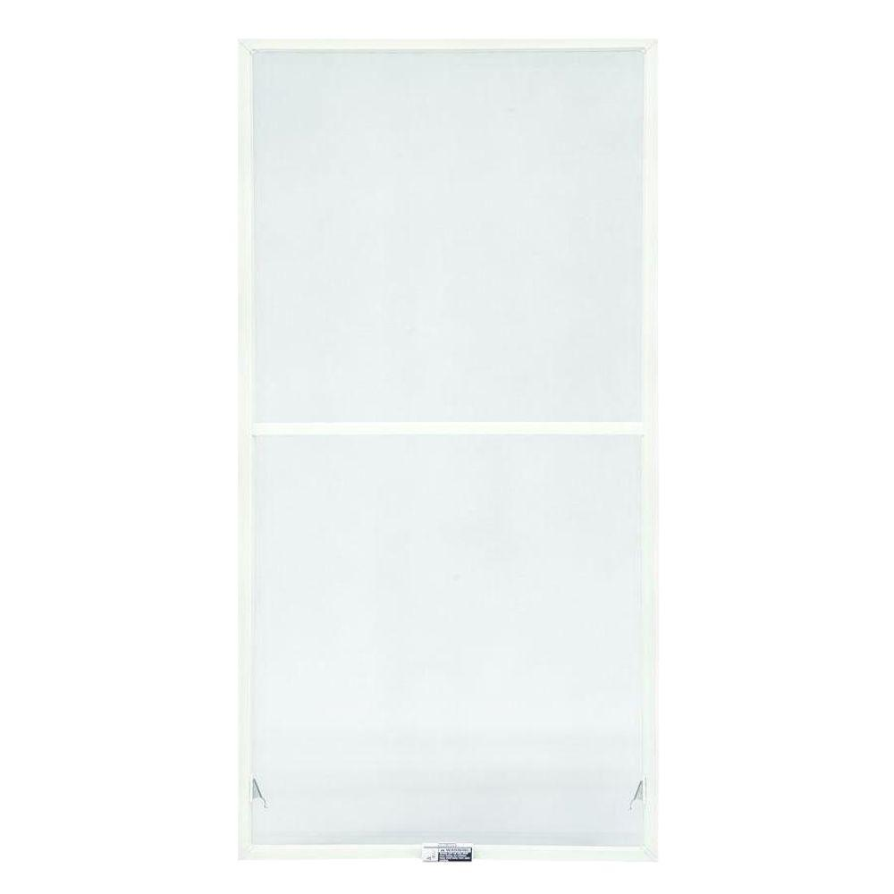 TruScene 23-7/8 in. x 38-27/32 in. White Double-Hung Insect Screen