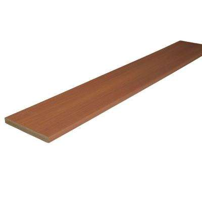 ProTect Advantage 3/4 in. x 7-1/4 in. x 12 ft. Western Cedar Capped Riser Composite Decking Board (10-Pack)