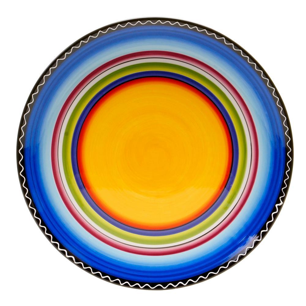 Tequila Sunrise 14.5 Round Platter