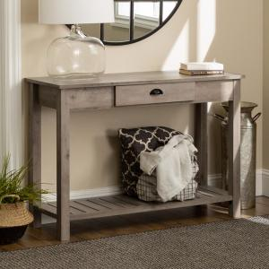 promo code 8d853 59c4a Walker Edison Furniture Company 48 in. Country Style Entry ...