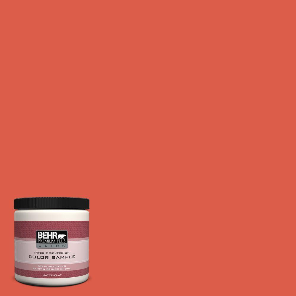 P180 6 Pimento Matte Interior Exterior Paint And Primer In One Sample