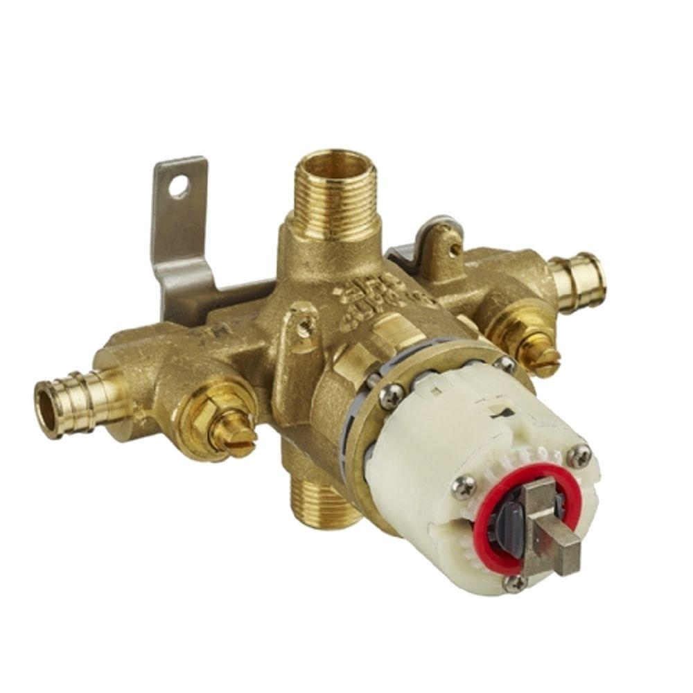 1/2 in. Pressure Balance Rough Valve with PEX Inlets and Universal