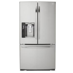 Click here to buy LG Electronics 19.8 cu. ft. French Door Refrigerator in Stainless Steel, Counter Depth by LG Electronics.