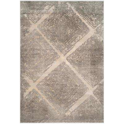 Meadow Taupe 8 ft. x 10 ft. Area Rug