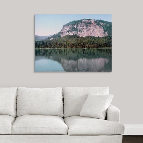 GreatBigCanvas 40 in. x 30 in. ''Echo Lake and White Horse