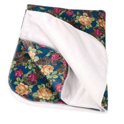 Duro-Med Protective Bed Pad with Tapestry Print