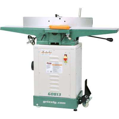 14 Amp/7 Amp 6 in. Corded Jointer with Economy Stand