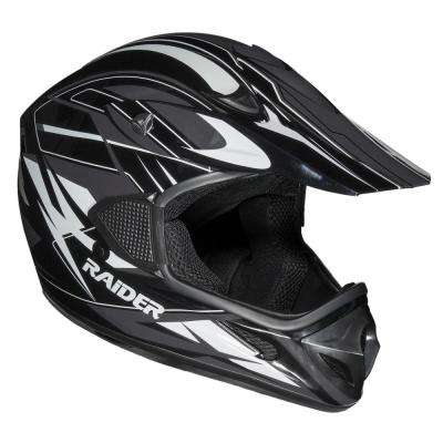 RX1 X-Large Black/Silver Adult MX