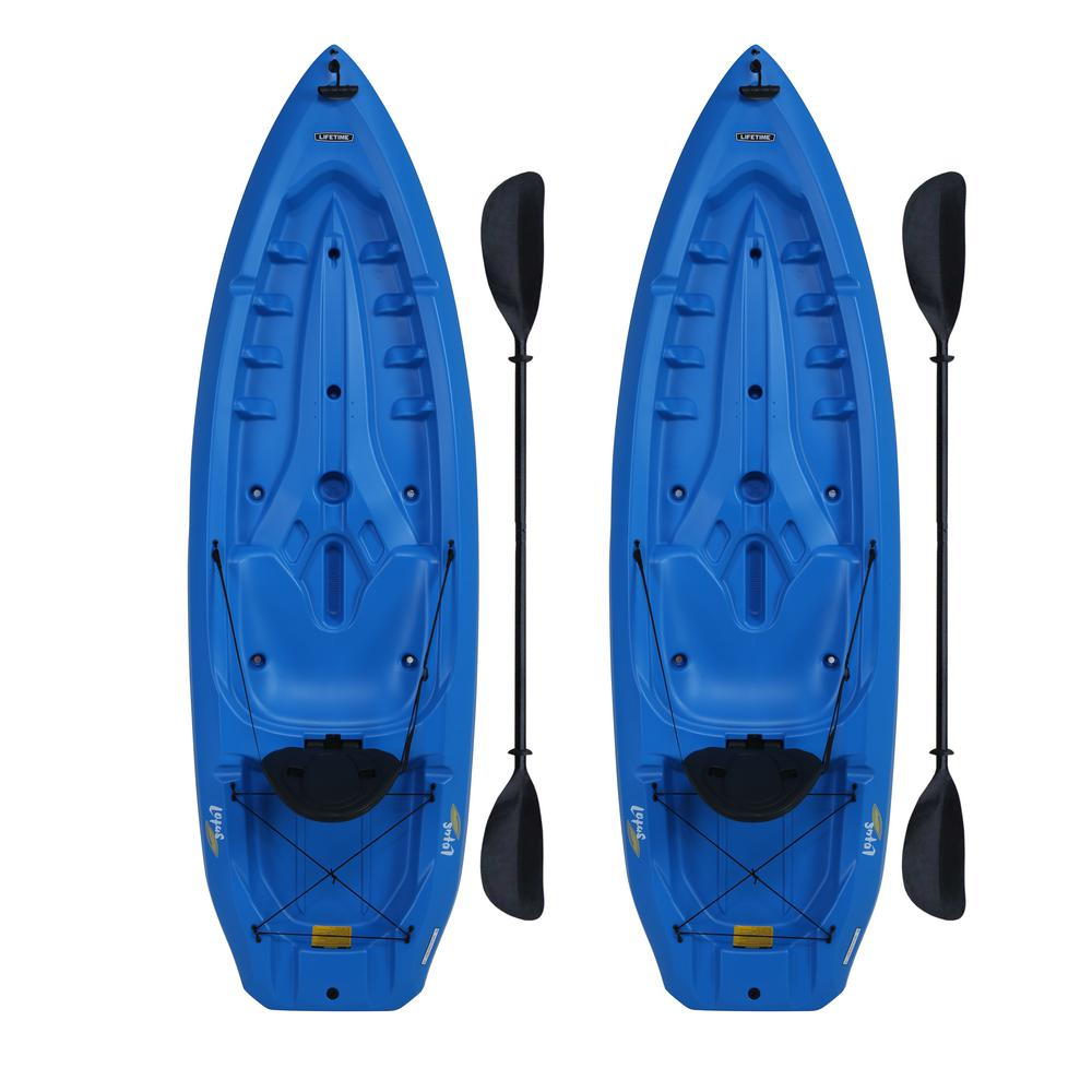 Lifetime Lotus Blue Kayak (2-Pack)
