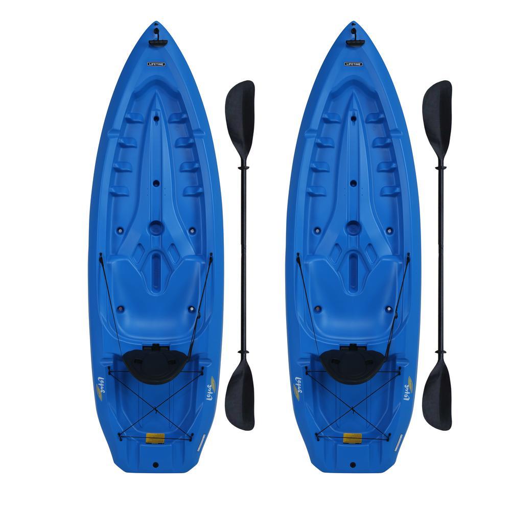 Lifetime Lotus Blue Kayak (2-Pack) by Lifetime