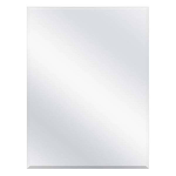 19-5/8 in. x 26 in. Recessed or Surface Mount Beveled Frameless Medicine Cabinet