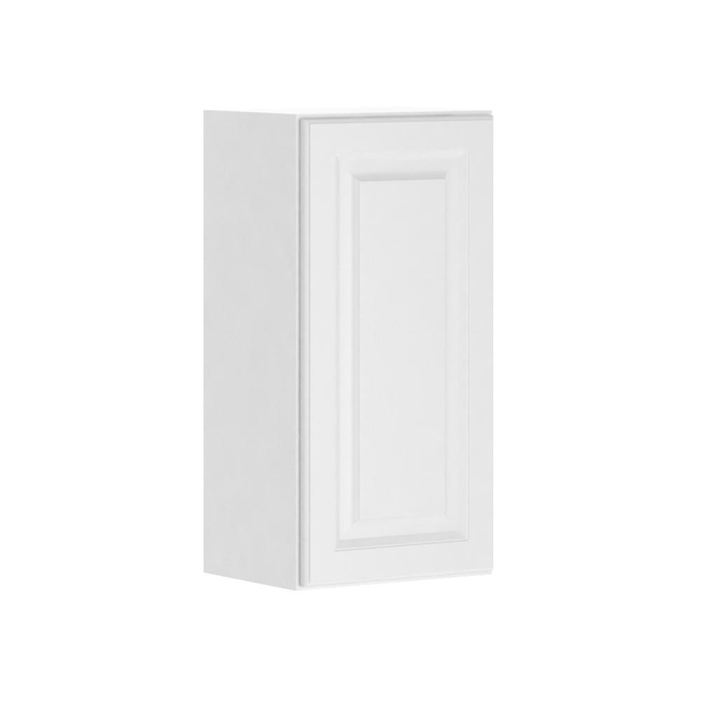 hampton bay Madison Assembled 15x30x12 in. Wall Cabinet in Warm White