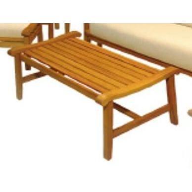 Hampton Bay Amazon Teak Patio Coffee Table-DISCONTINUED