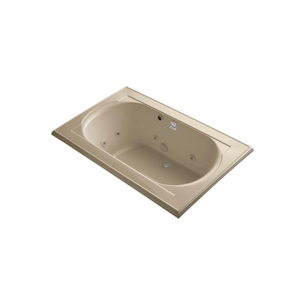 KOHLER Memoirs 5.5 ft. Whirlpool Tub in Mexican Sand-DISCONTINUED
