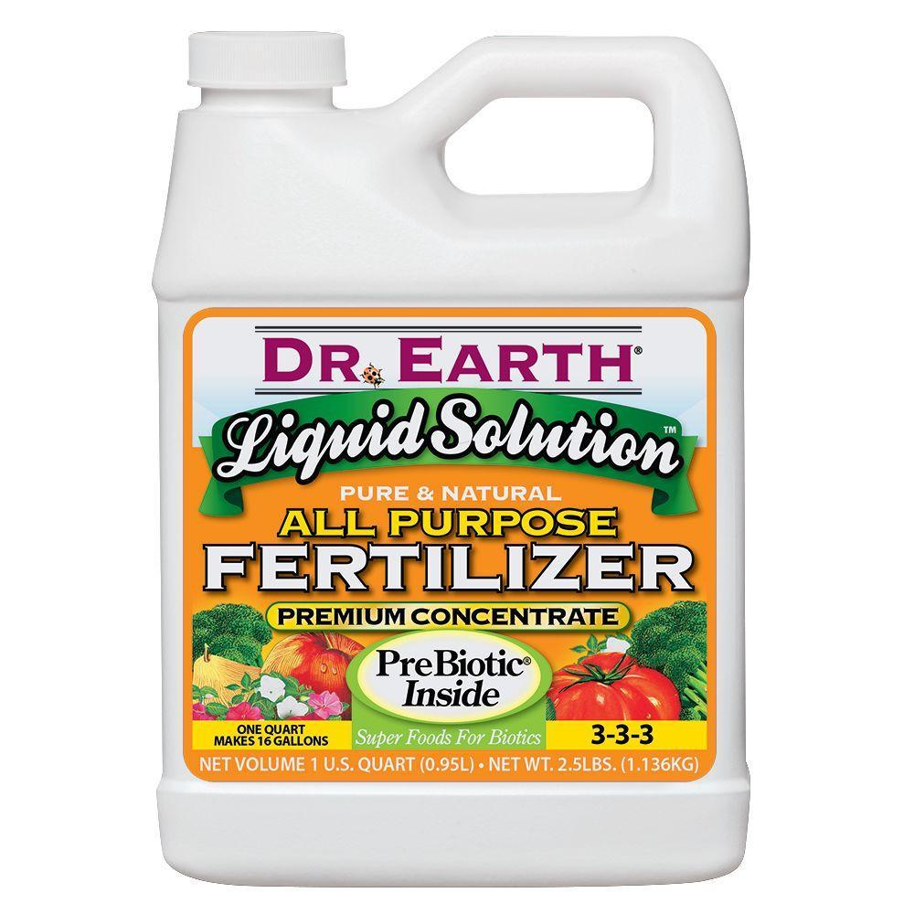 DR. EARTH 32 Oz. Liquid Solution 3-3-3 All Purpose