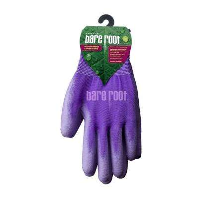Ladies OSFM Premium Purple Polyurethane Coated Gloves