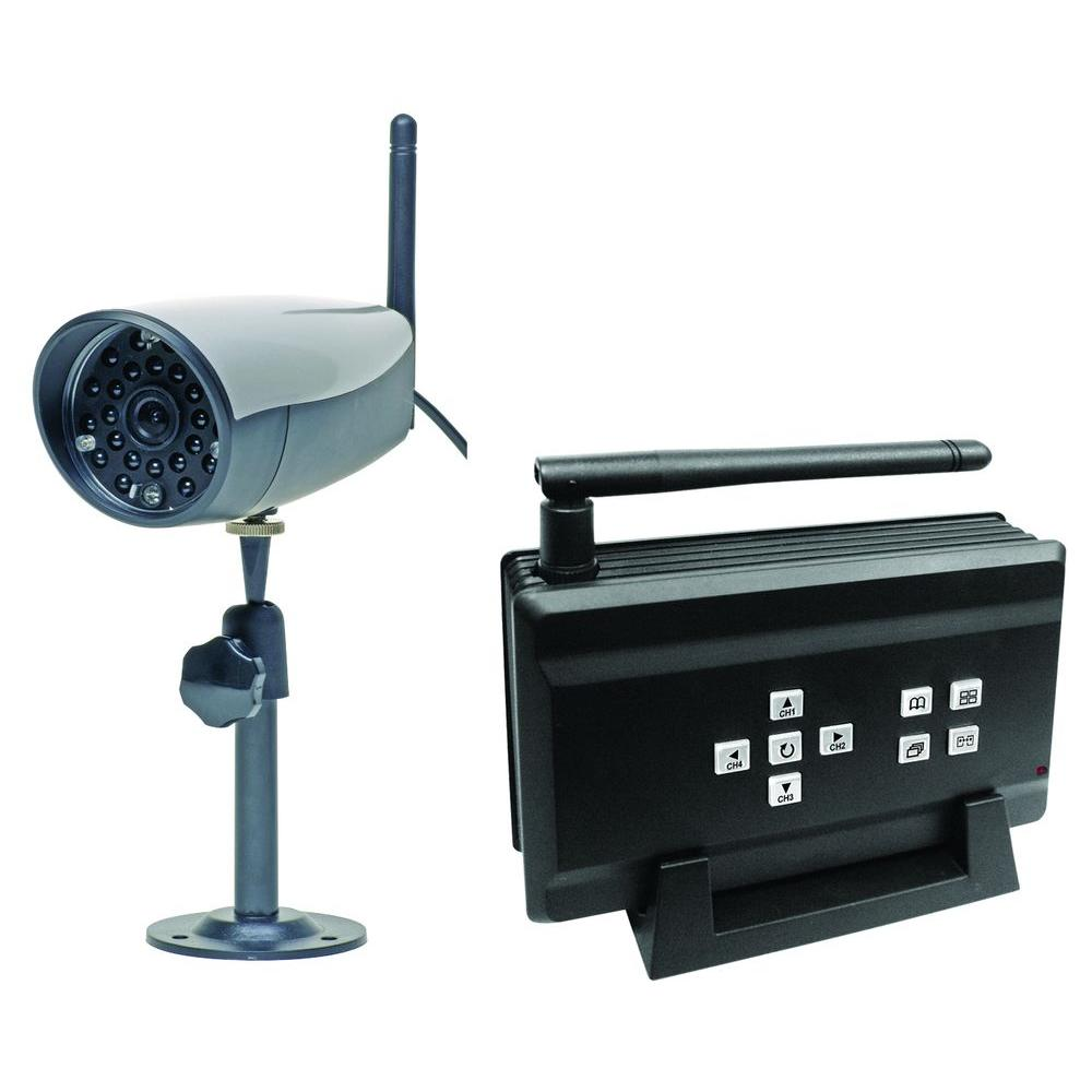 Q-SEE 4-Channel Wireless Surveillance System with (1) 400 TVL Camera-DISCONTINUED