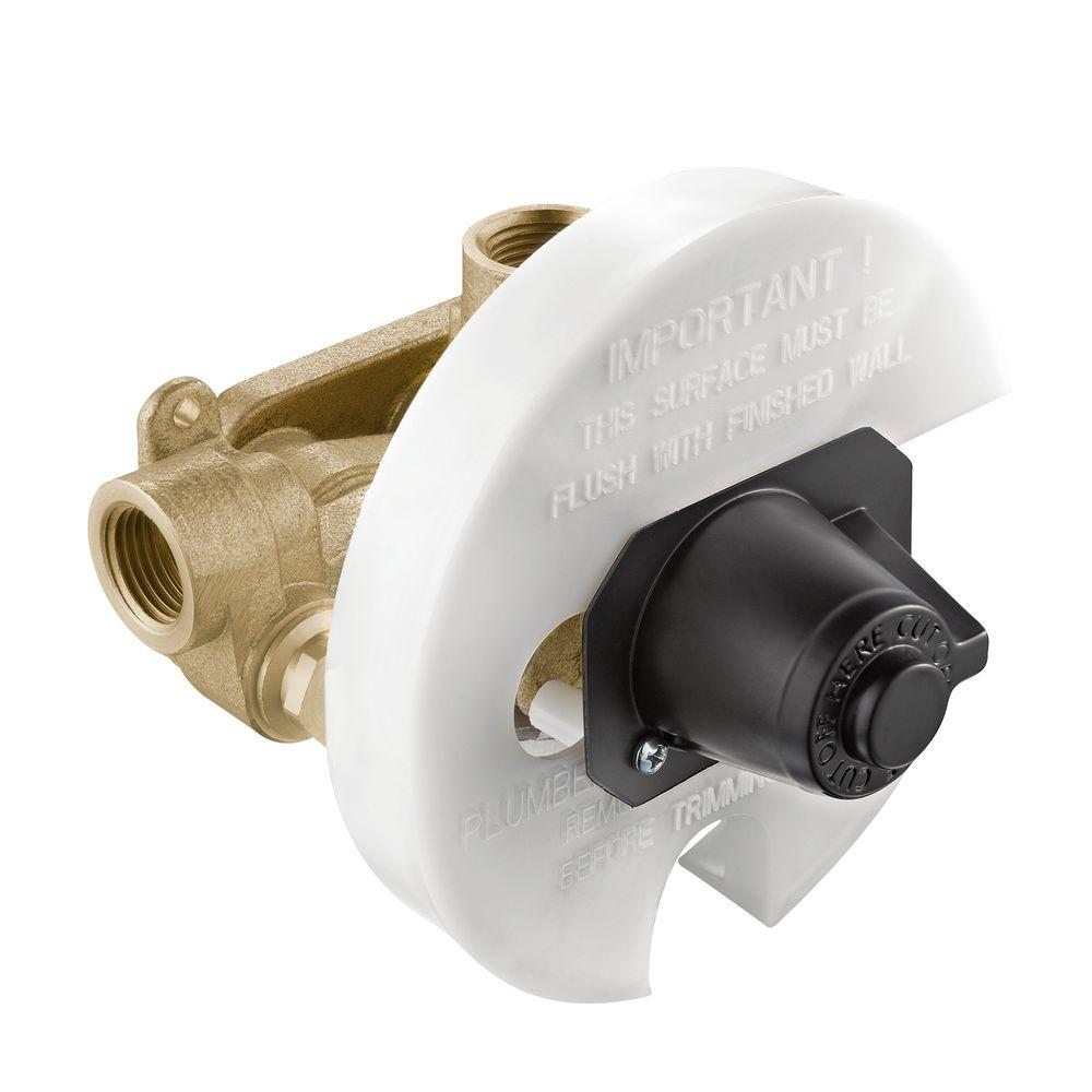 null Moentrol Pressure-Balancing Volume-Control Tub and Shower Valve - 1/2 in. IPS Connnection