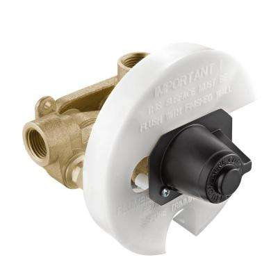 Moentrol Pressure-Balancing Volume-Control Tub and Shower Valve - 1/2 in. IPS Connnection