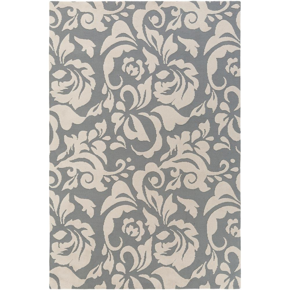 Annette Adeline Gray 8 ft. x 10 ft. Indoor Area Rug