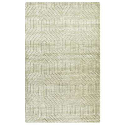 Technique Ivory Solid 5 ft. x 8 ft. Area Rug