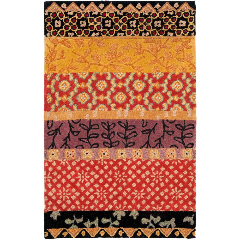 Safavieh Rodeo Drive Rust/Gold (Red/Gold) 5 ft. x 8 ft. A...