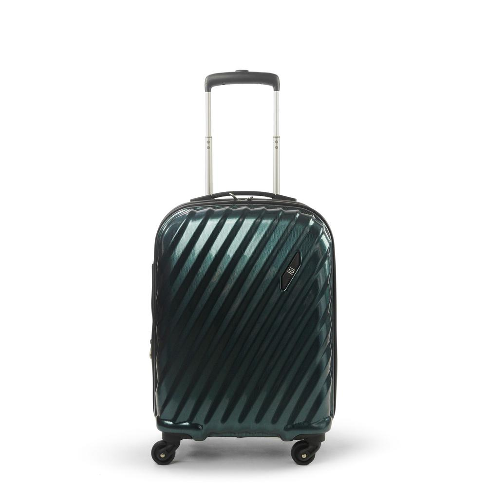 Marquise Series 21 in. Teal Hard-Sided Spinner Suitcase