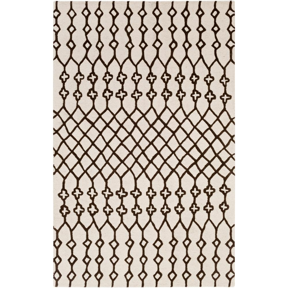 Ghana Jayden Ivory 5 ft. x 8 ft. Indoor Area Rug