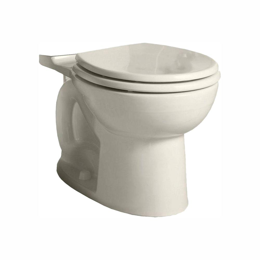 American Standard Cadet 3 FloWise Round Toilet Bowl Only in Linen