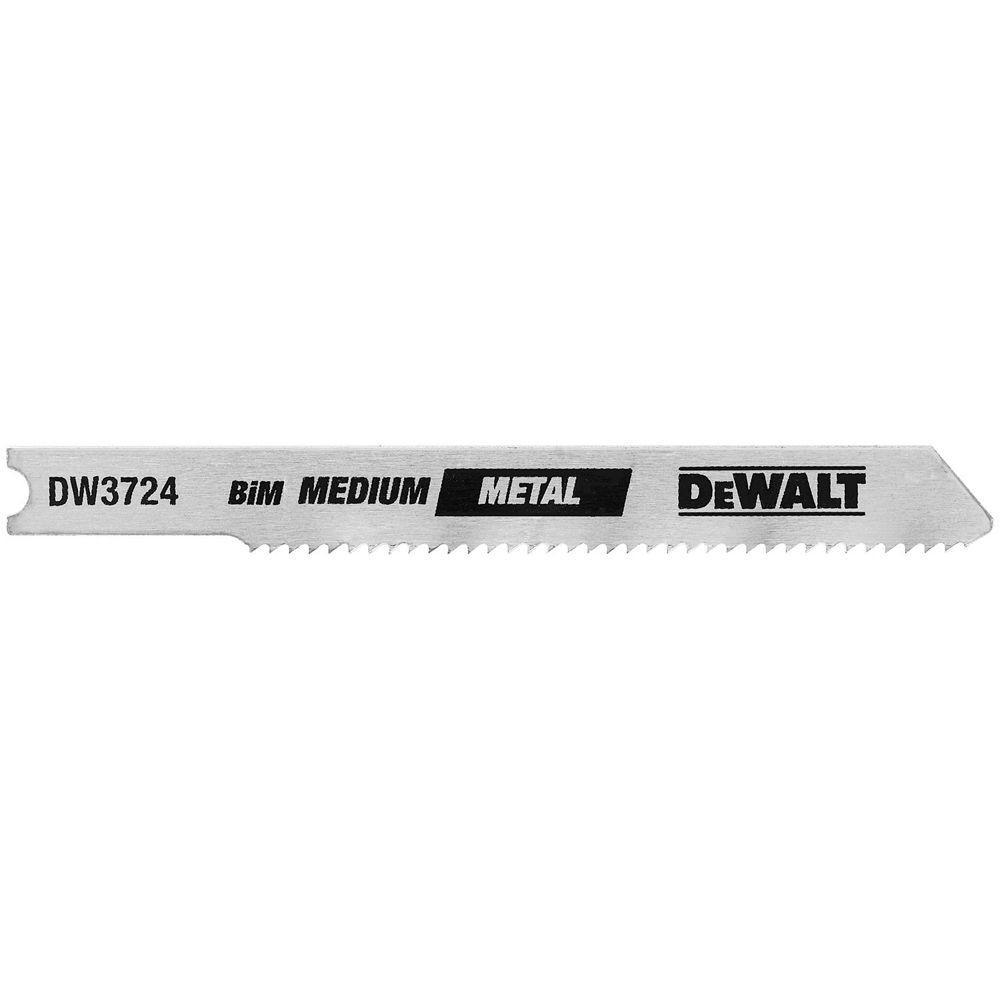 3 in. 18 TPI Medium Metal Cutting Jig Saw Blade Bi-Metal U-Shank (5-Pack)
