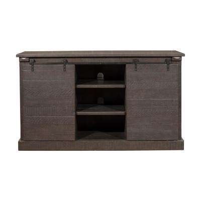 Rock Creek Grey Entertainment Center