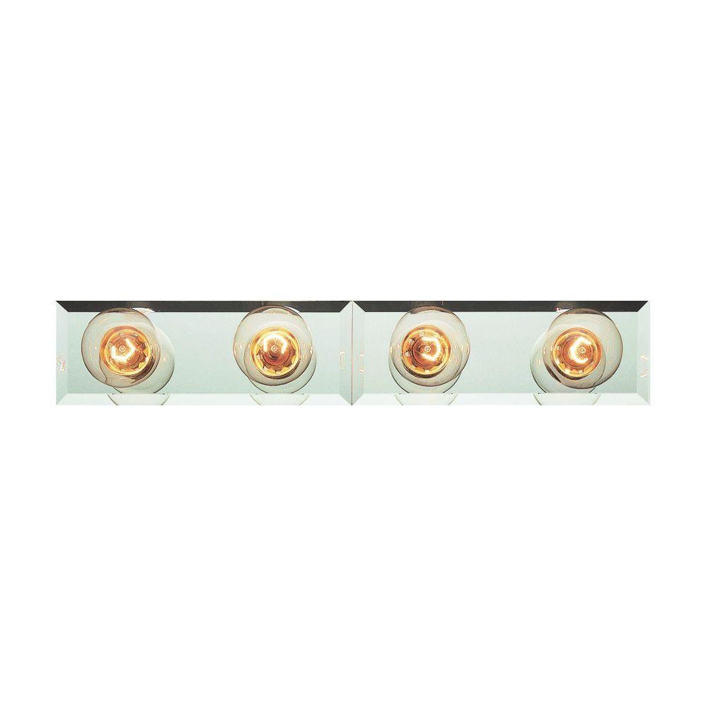 Bel Air Lighting Cabernet Collection 4-Light Polished Brass Bath Bar Light