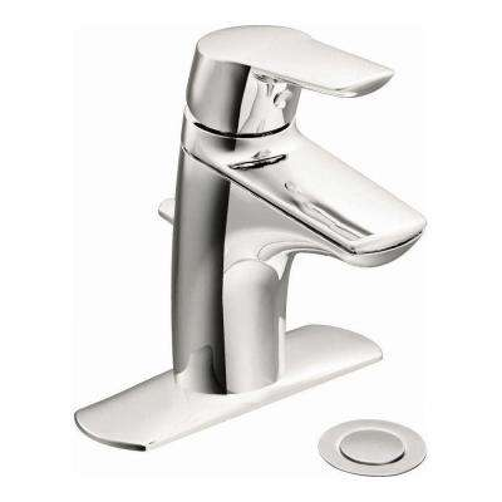 Method Single Hole Single Handle Bathroom Faucet in Chrome