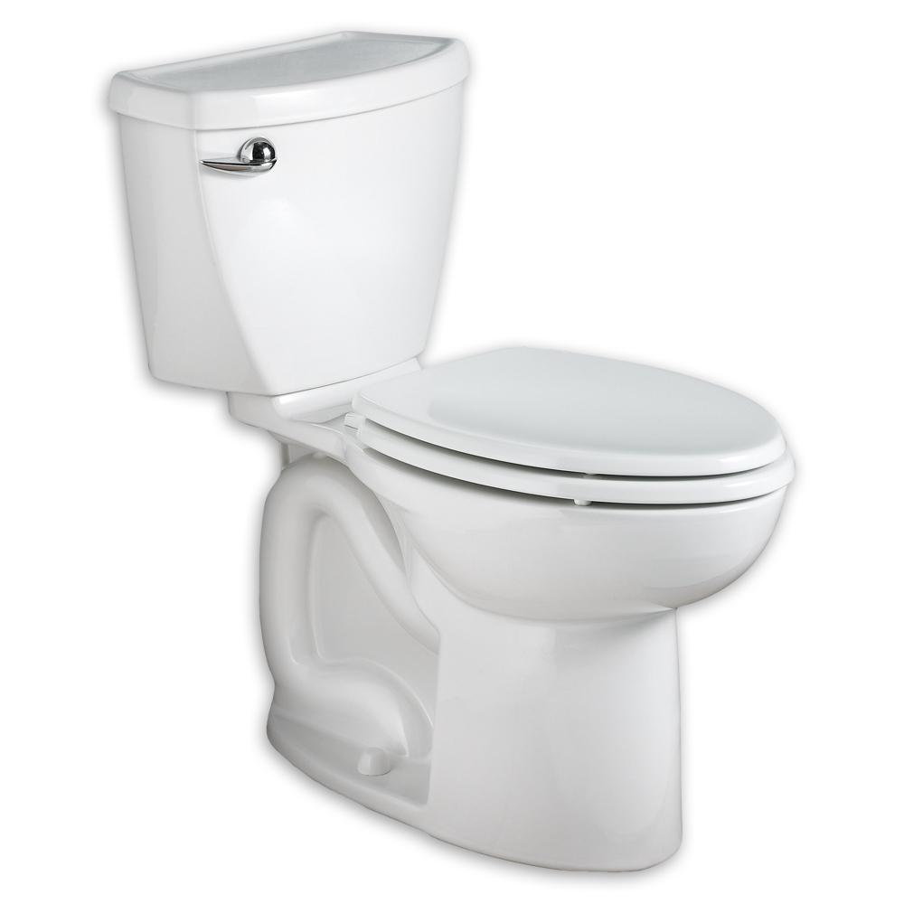 American Standard Cadet 3 FloWise Tall Height 2-piece 1.28 GPF High Efficiency Elongated Toilet in White with Slow Close Seat