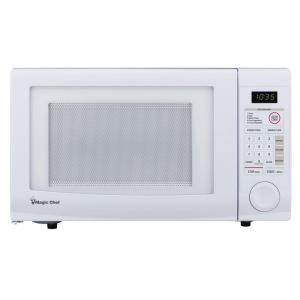 Countertop Microwave In White Magic Chef