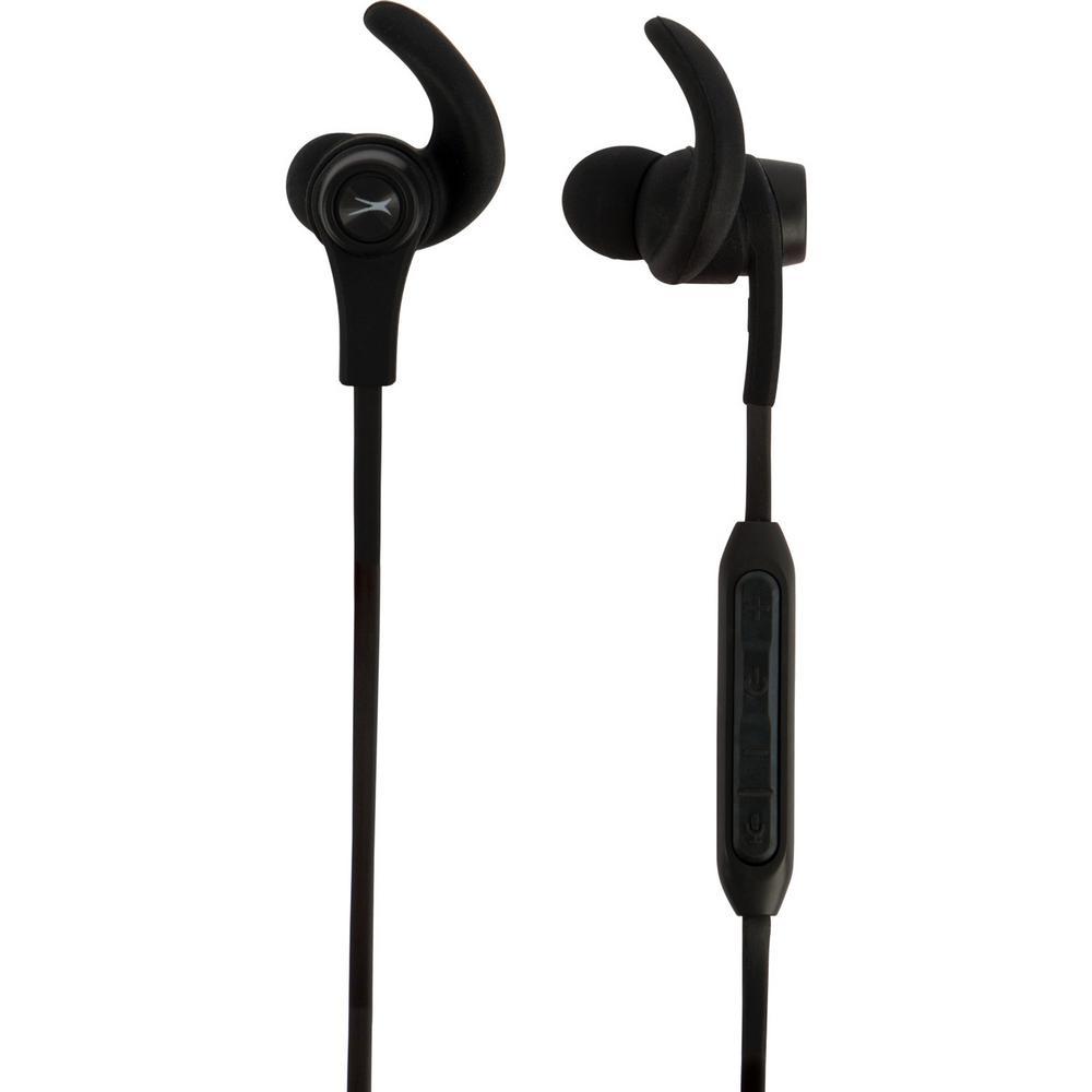 Sport in Ear Earphones in Black