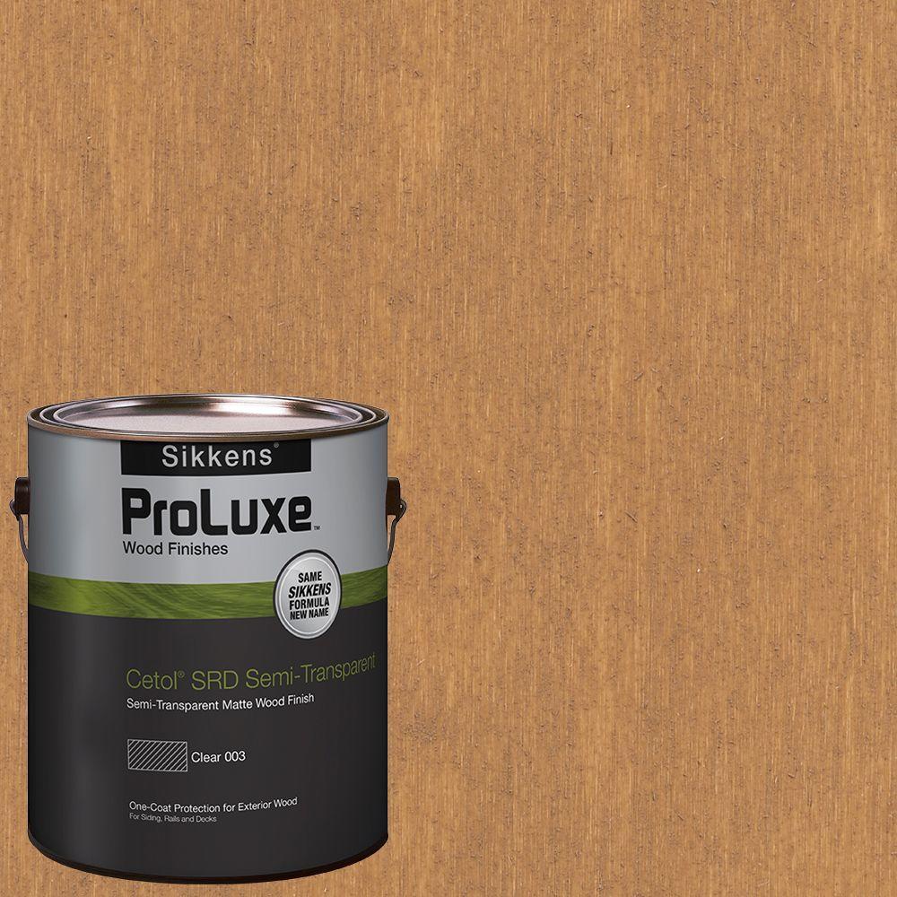 1 gal. #HDGSRD-ST-156 Cedar Cetol SRD Semi-Transparent Exterior Wood Finish