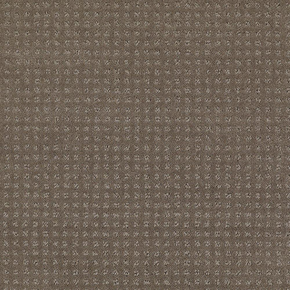 LifeProof Carpet Sample - Out of Sight II - Color Soft Clay Texture 8 in.