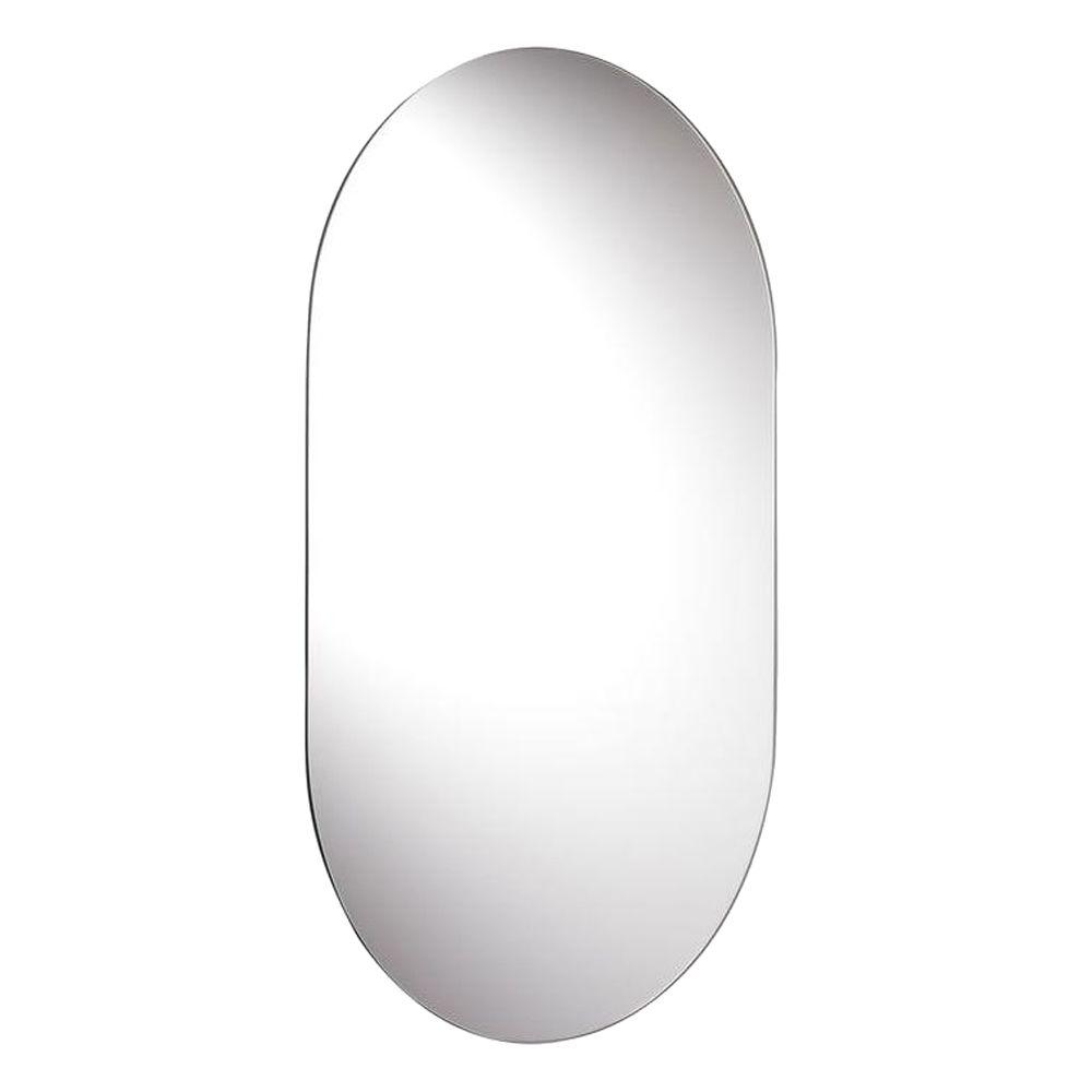 Harrop Rounded Rectangle Wall Mirror With Hang