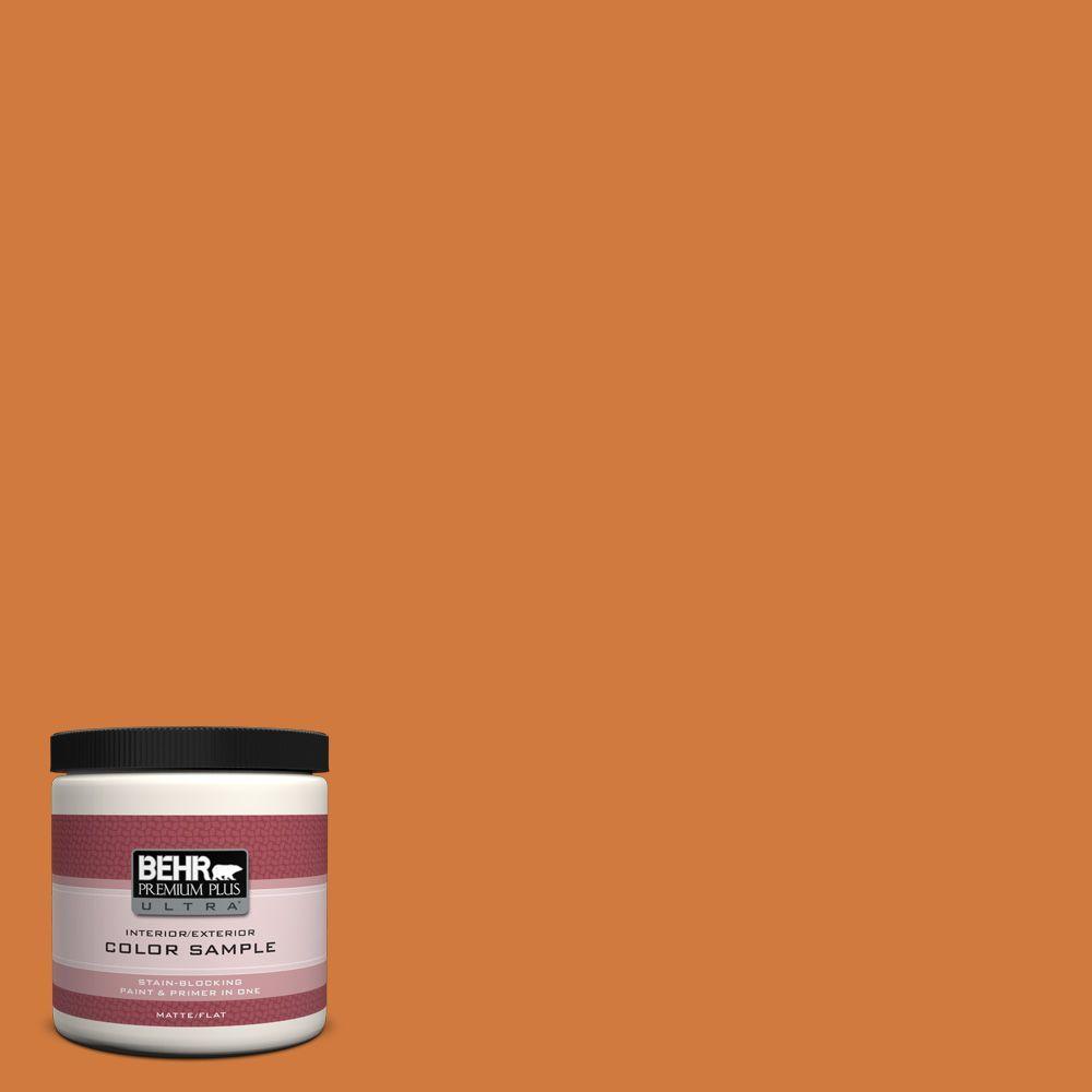 BEHR Premium Plus Ultra 8 oz. #250D-6 Maple Leaf Interior/Exterior Paint Sample