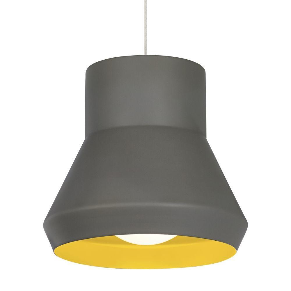 Milo 1-Light gray Suspension Light